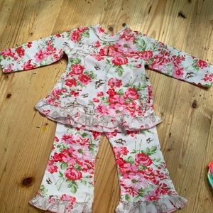Baby Nay 2-Piece Girls Outfit